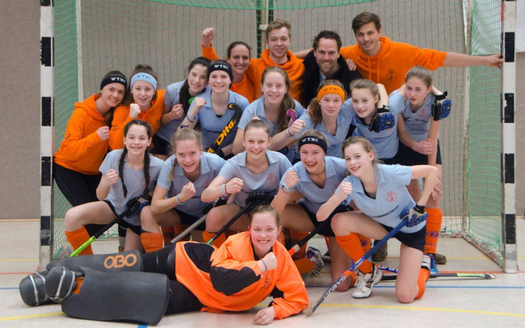 Mädchen A erneut bei der Deutschen Meisterschaft in der Halle dabei