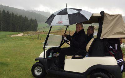 1. WTHC Open Golfturnier: Abbruch bei Wolkenbruch
