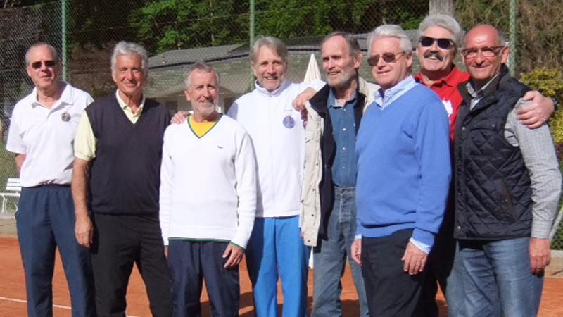 WTHC-Herren 60 steigen in die Regionalliga auf