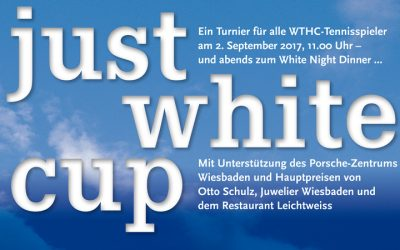 Just White Cup am 2. 9. 2017