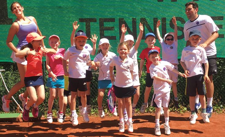 Meldung neuer Tennis-Jugendmannschaften