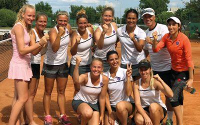 Tennis-Damen: Fünfter Erfolg im fünften Spiel!