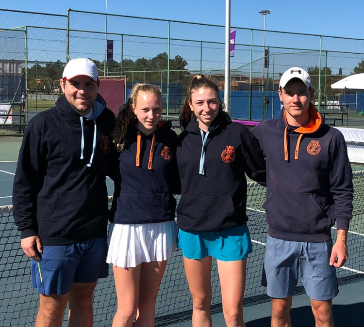 WTHC-Tennisjugend international unterwegs