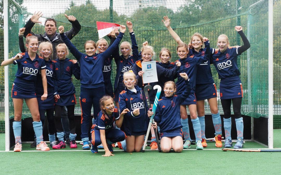 B-Mädchen holen sich den Hessenmeistertitel!