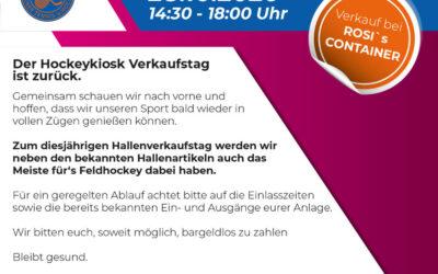 Hallenhockey Verkaufstag Hockeykiosk im WTHC